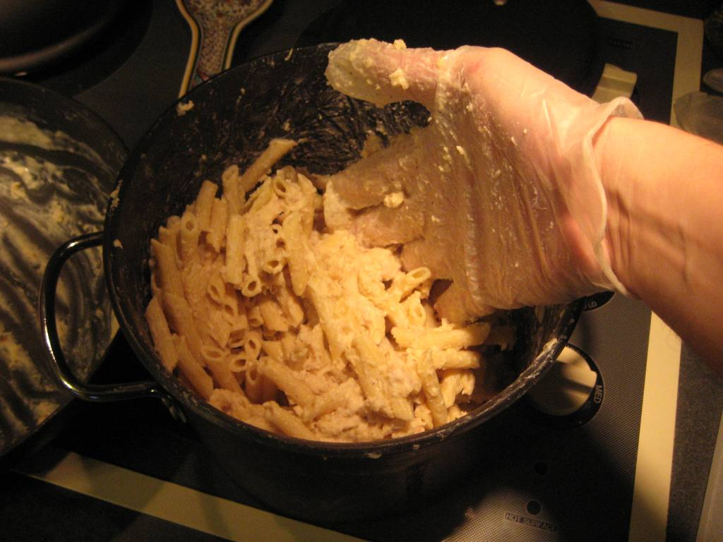 Picture of Triple D in the 'D' Most Macked Mac & Cheese!
