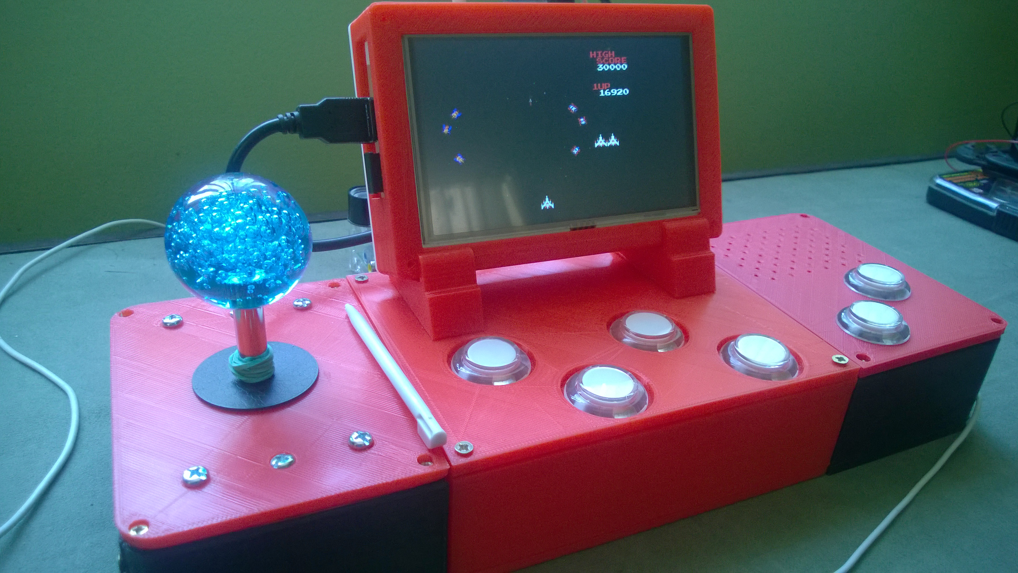 Picture of An Unconventional 3D Printed Retropie Arcade - Part 2 of 2