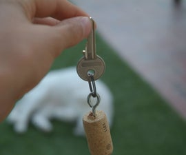Cork Key-chain