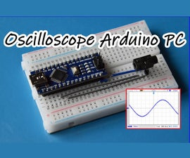 Oscilloscope 3channel on Arduino