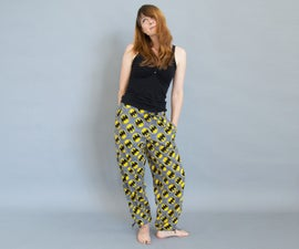 Sew Pajama Pants From a Pattern