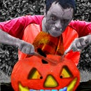 The Pumpkin Zombie- Using Pixlr