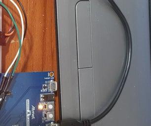 LM35 Temperature  Sensor With SAMD21 Xplained Pro