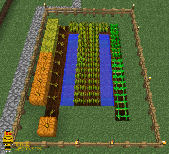 Picture of Farming in Minecraft