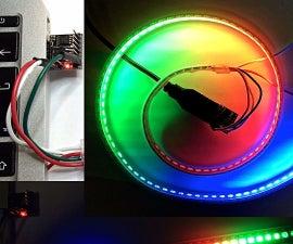 USB NeoPixel Deco Lights (via Digispark / ATtiny85)