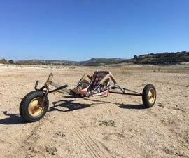 Kite Buggy Fram a Shopping Cart