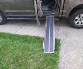 Pick Up Truck Dog Ramp and Cargo Retainer/Divider