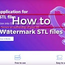 How to Watermark STL File?