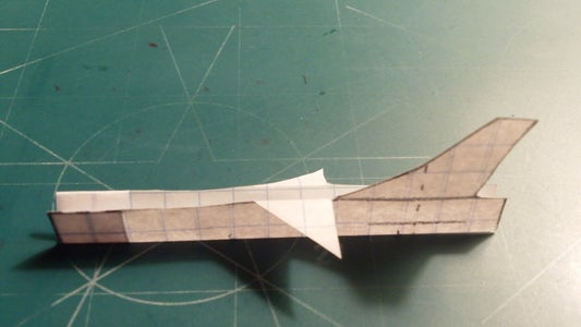 Making the Rudder and Fuselage