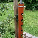 Plant Tower Made Out of PVC Pipe (15 Pockets)