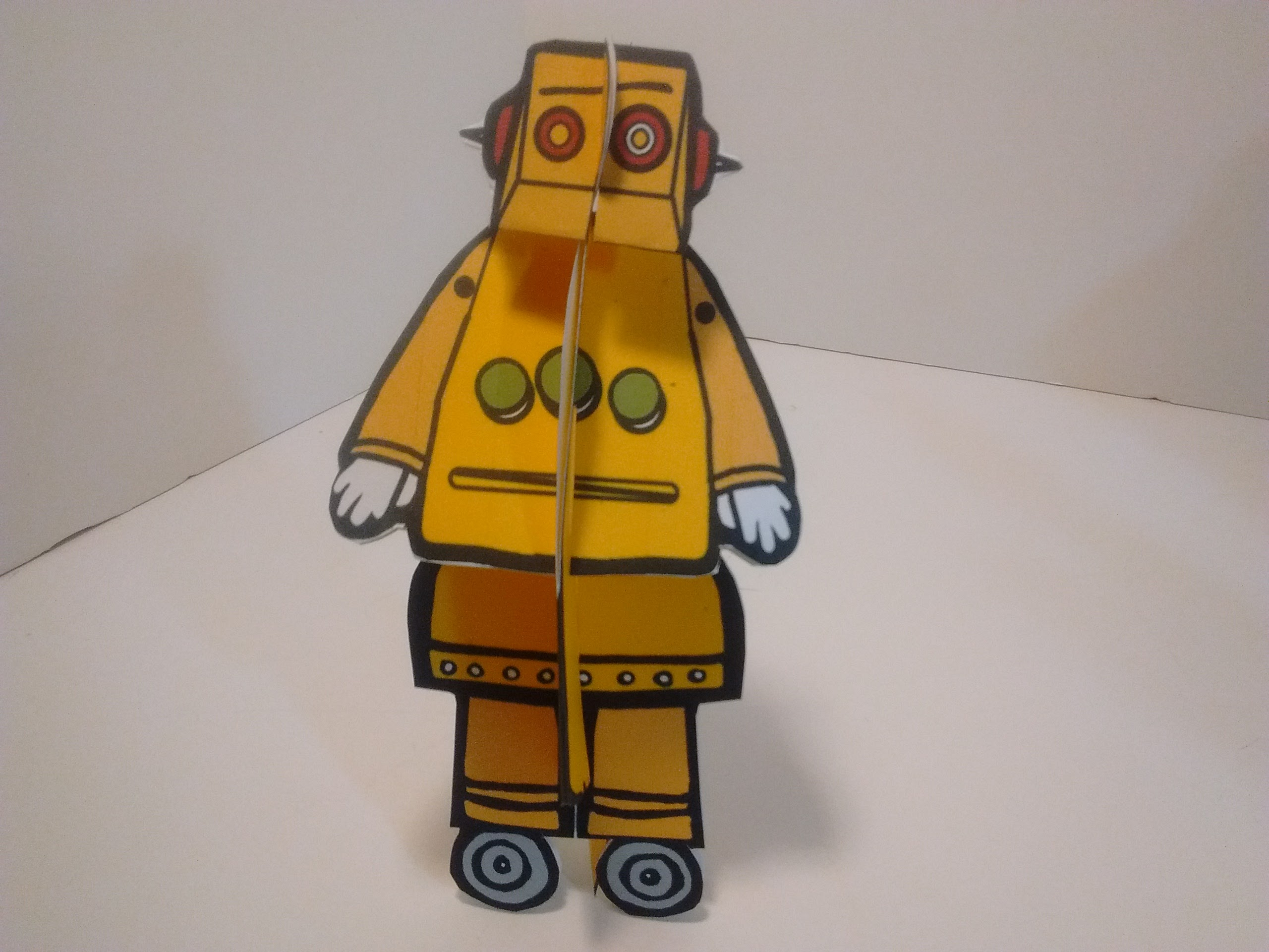 Picture of Cut and Assemble Your Paper Robot