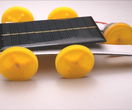 Amazing Solar Cell Car