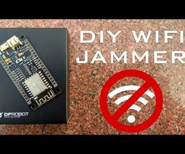 Wi-Fi Jammer From an ESP8266   WiFi Jammer/ Deauther