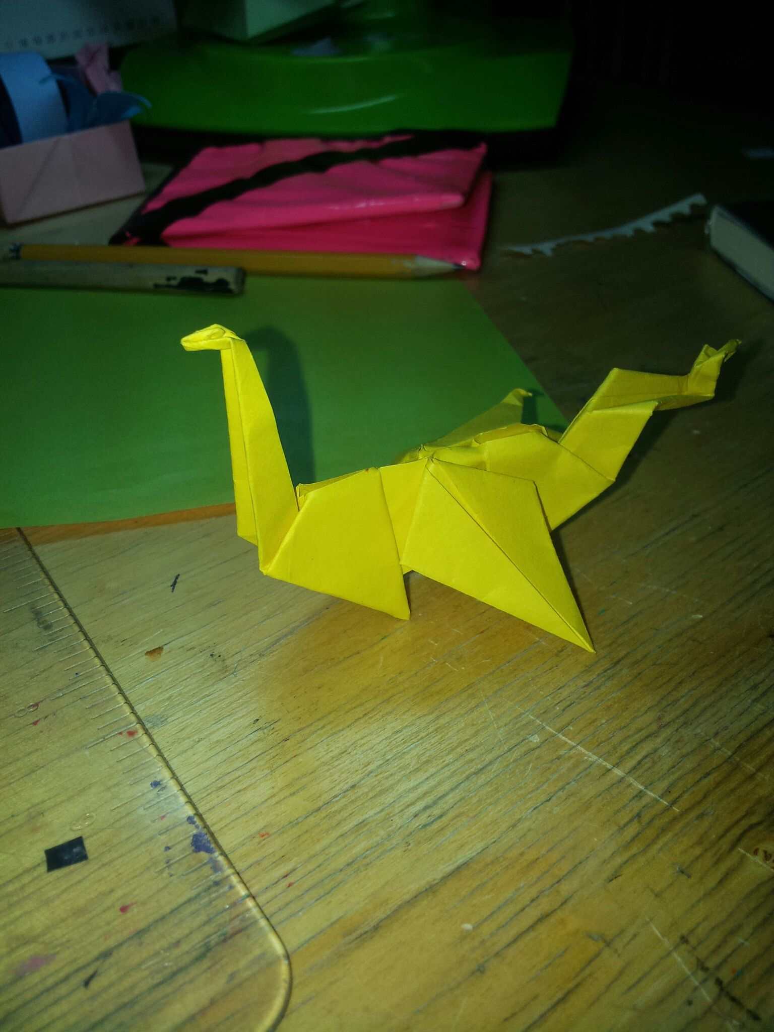 Picture of Dragon Origami