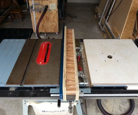 Auxiliary Aluminum T-track Fence for Your Table Saw for under $50