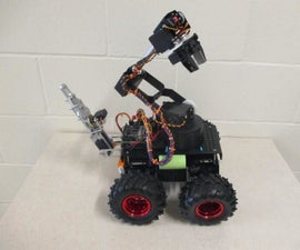 1Sheeld Controlled Arduino Vehicle