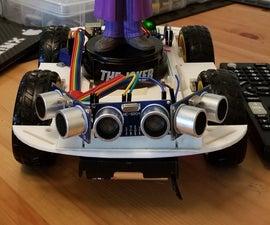 The Autonomous Remote Controlled Car