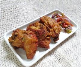 Prepare Spicy Fried Chicken