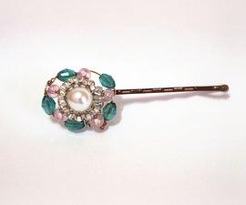 DIY Pearl & Beaded Hair Pin