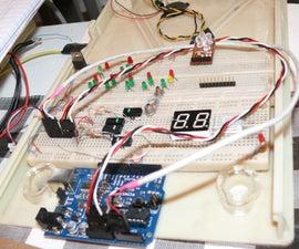 How to Access 5 Buttons Through 1 Arduino Input