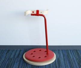 IKEA HACK:Stool→Umbrella Stand