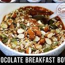 CHOCOLATE BREAKFAST BOWL