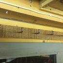 Nailed Board Coat hanger
