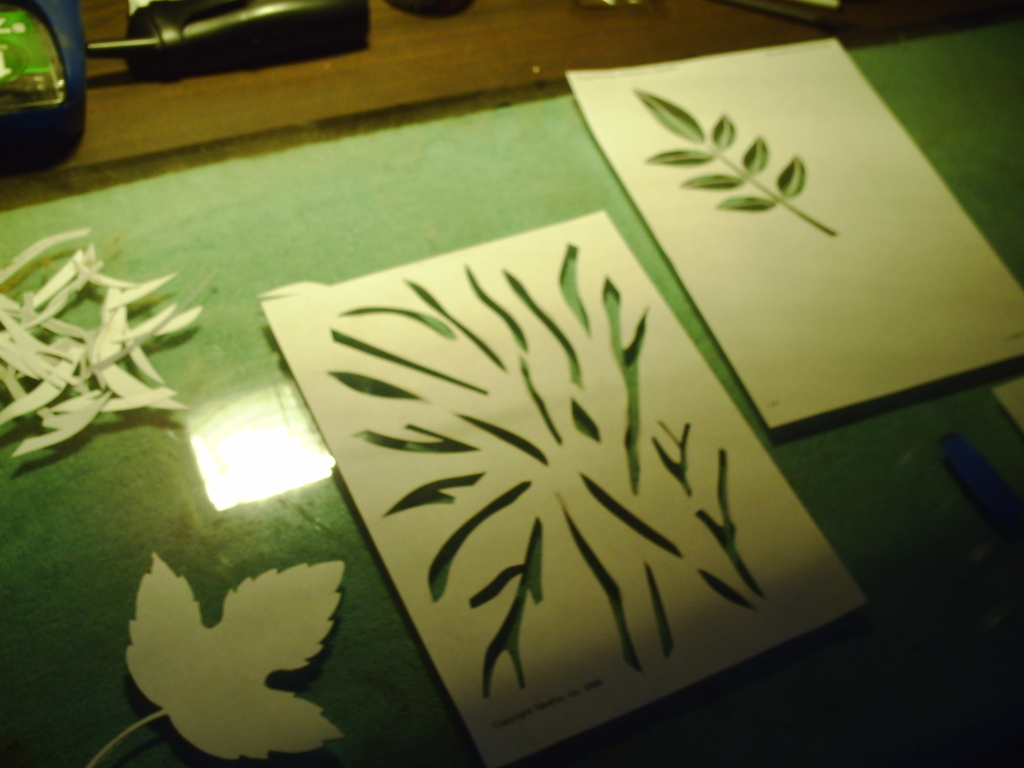 Picture of Base Coat and Stencil Prep......