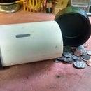 Customizable PVC coin bank