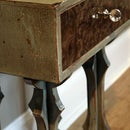 How-to faux paint antique distressed furniture [video]