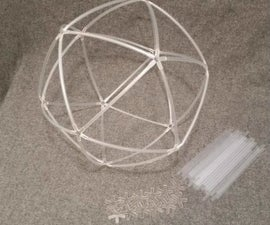 Make an Icosahedron Out of Plastic Straws