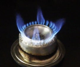 10 minutes Alcohol Stove