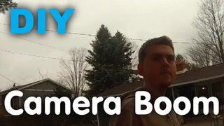 DIY Camera Boom (Video)