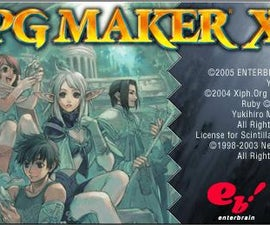 Create a video game with RPG Maker XP