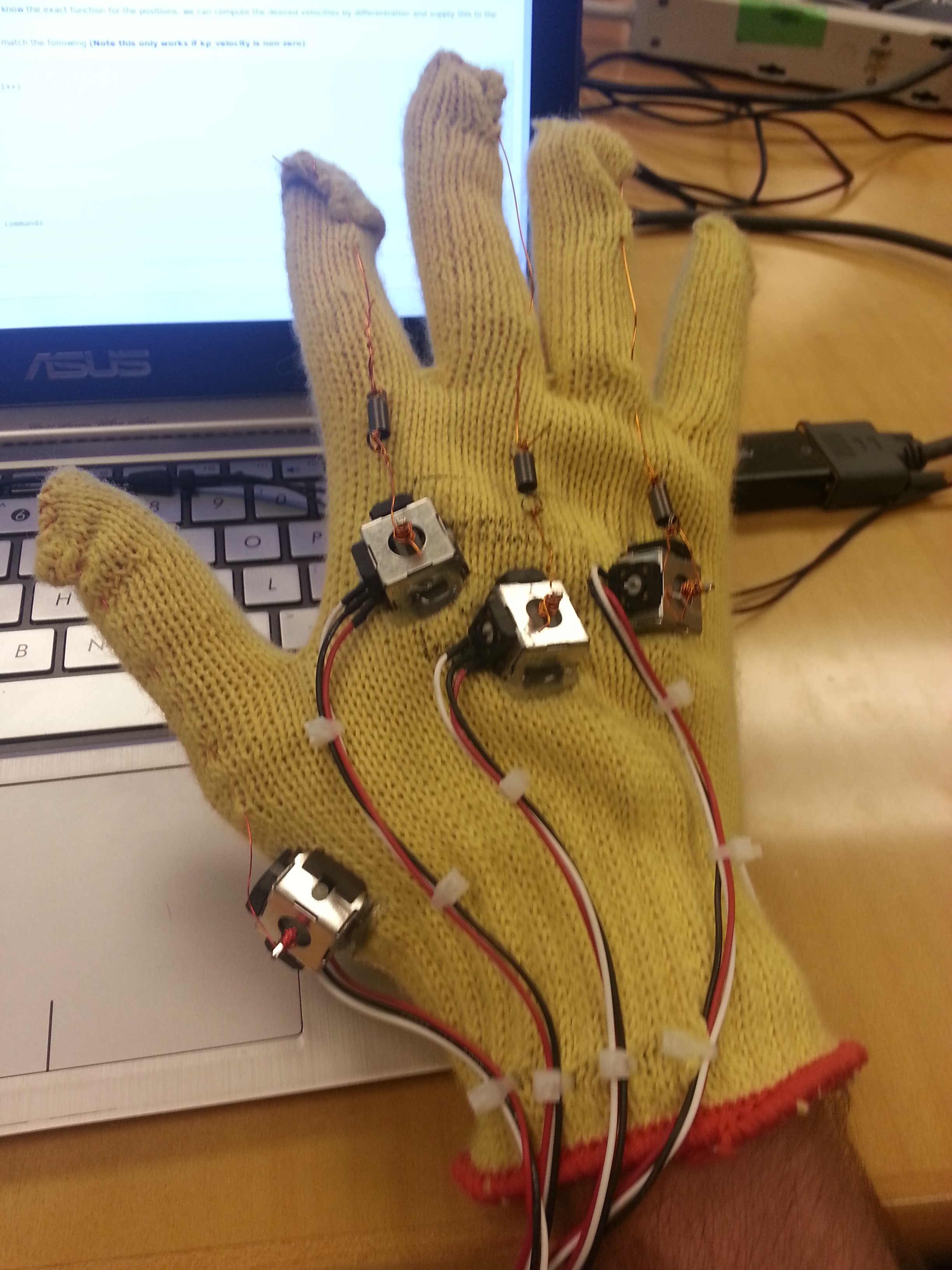 Picture of Wiring the Fingers