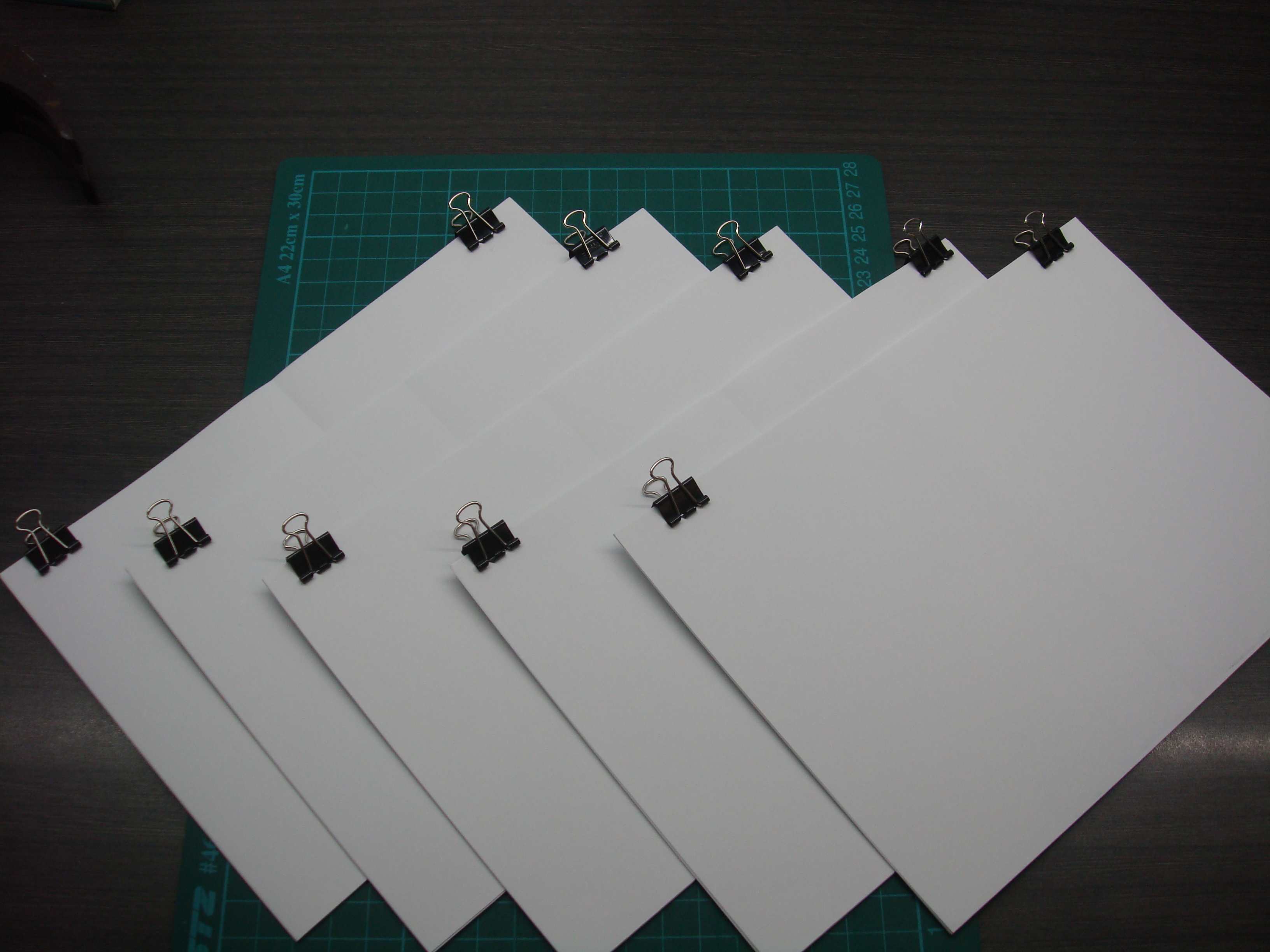 Picture of Cut Out Booklets
