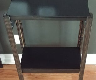 2x4 Bedside Table