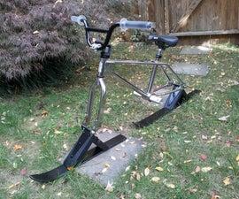 A better Ski Bike