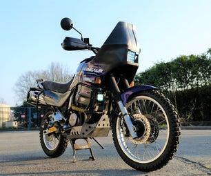 Carbon Fiber Motorcycle Rally Fairing