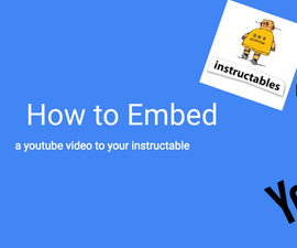 How to embed a video