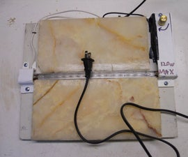 Acrylic Bender From Laser Printer With Relay Timer Box