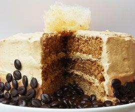 SALTED CARAMEL & CINNAMON COFFEE CAKE