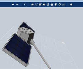 3D printable Satellite Charger