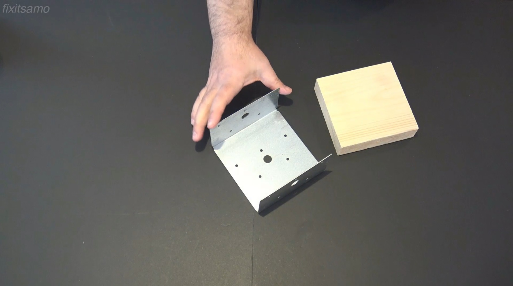 Picture of Step 3: Bracket and Metal Mending Plate