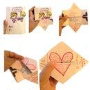 Valentines continuous card surprise