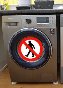 Novel Method to Stop a Washing Machine 'Walking'