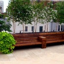 NYC Roof Deck Design: Park Avenue Limestone Patio