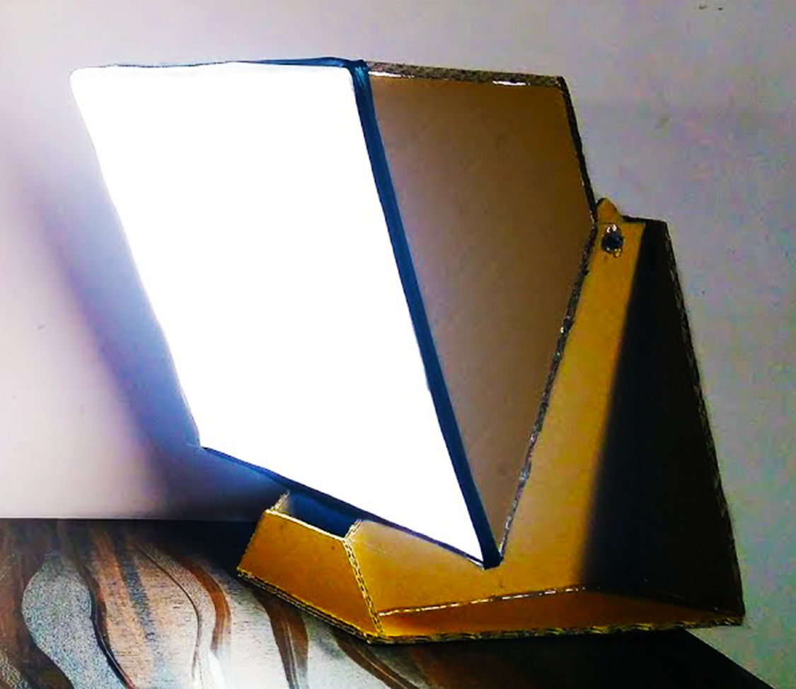 Picture of DIY LED SOFTBOX Stand for Product Photography