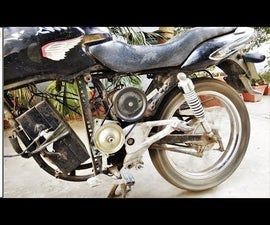 HOW TO BUILD a 36VOLTS ELECTRIC MOTORCYCLE