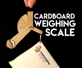 Cardboard Weighing Scale